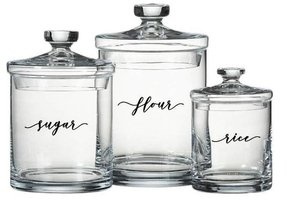 Glass Kitchen Canister Sets - Ideas on Foter
