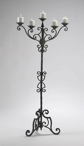 Best Wrought Iron Floor Candle Holders - Foter YH24