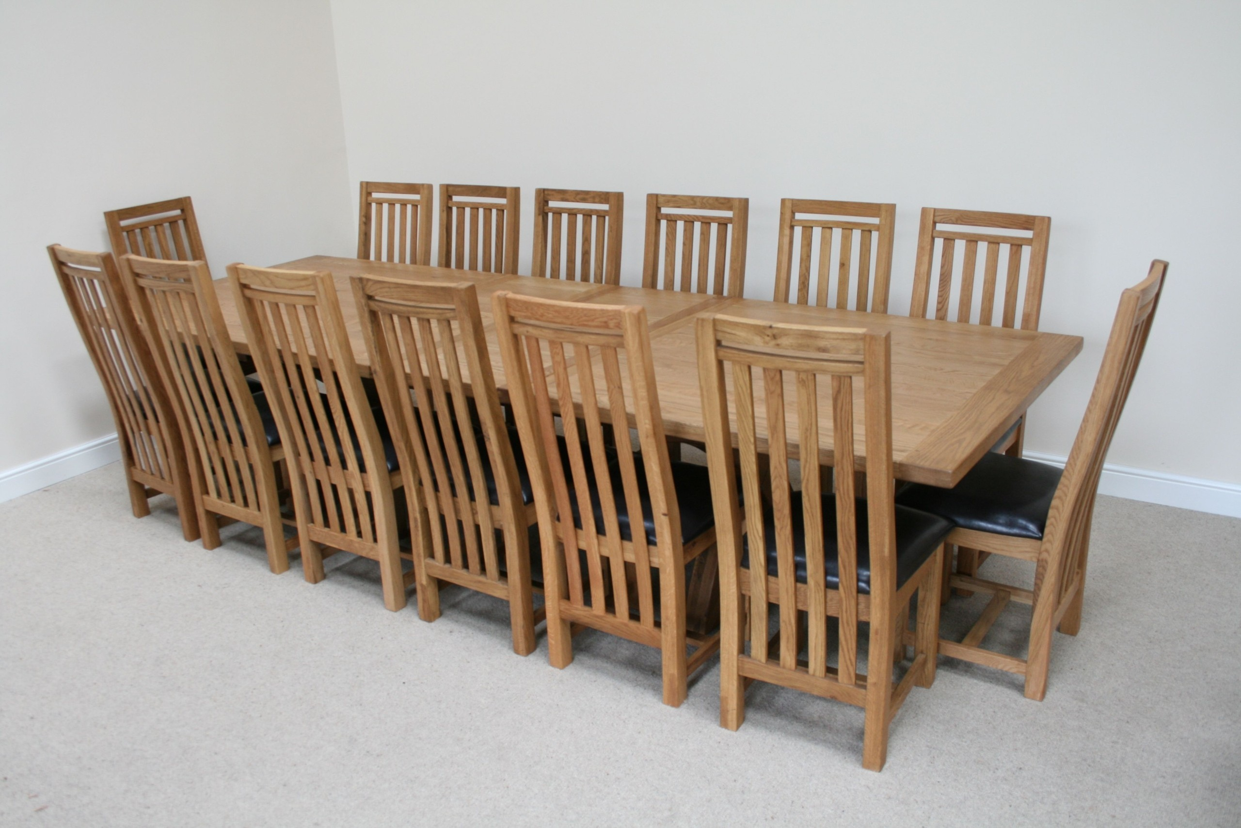 Large Dining Tables To Seat 10 12 14 Or 16
