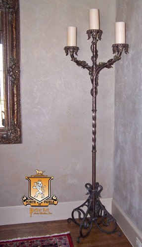 Wrought Iron Floor Candle Holders Foter
