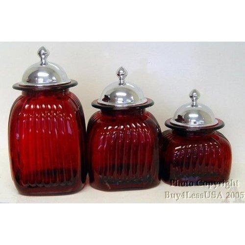 Vintage Glass Canister Sets