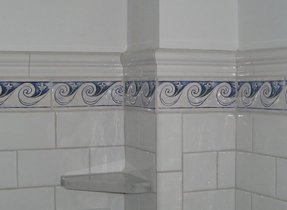 Decorative Ceramic Tile Borders For