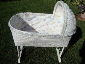 Wicker Baby Bassinet Foter