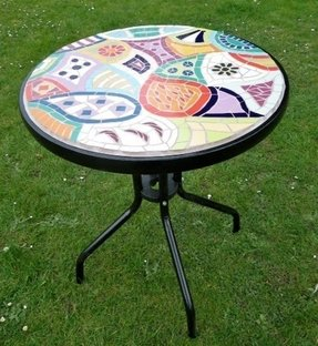 Mosaic Bistro Table Set Foter