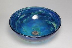 Blue Glass Vessel Sink Foter