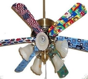 Ceiling fan blade covers foter ceiling fan blade cover aloadofball Images
