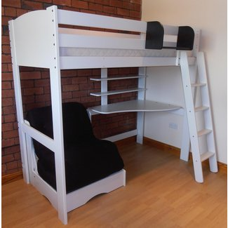Loft Beds With Desk And Futon - Ideas on Foter
