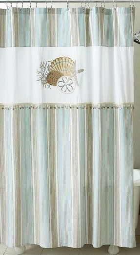 Coastal Shower Curtains 5