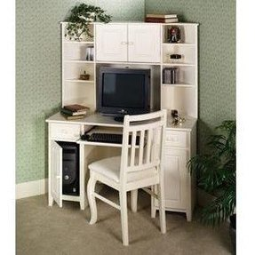 Corner desks with hutch for home office 1