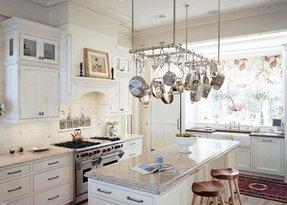 Kitchen Island Pot Rack - Ideas on Foter