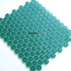 Glass penny tile 1