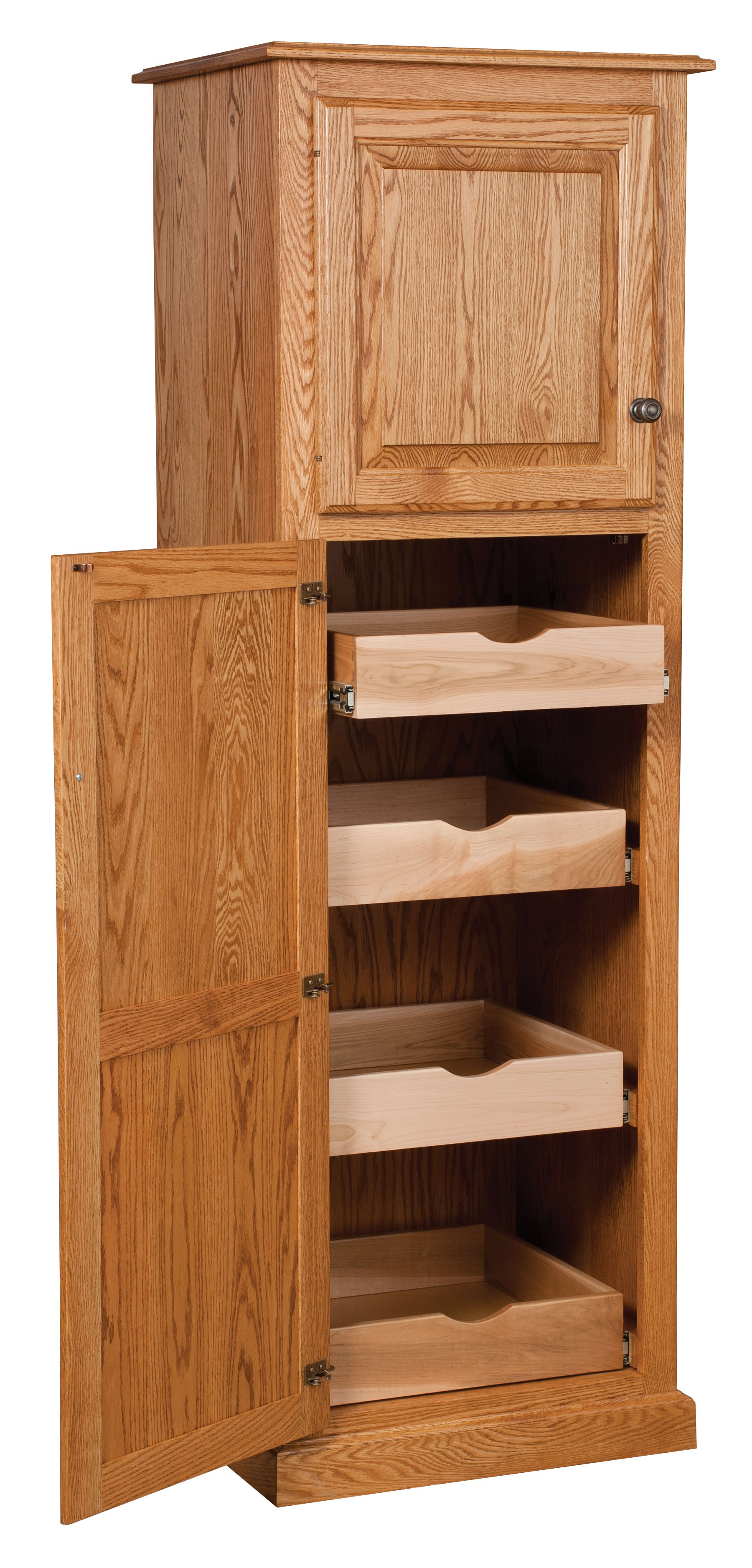 Kitchen Cabinets Amish Country Traditional Kitchen Pantry Storage