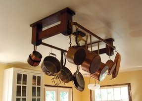 Kitchen Island Pot Rack Foter