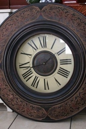 Large round wall clock r large round wall clock r