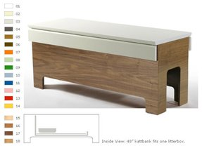 corner cat litter box furniture. Litter Box How To Conceal Your Cats Furniture Corner Cat E