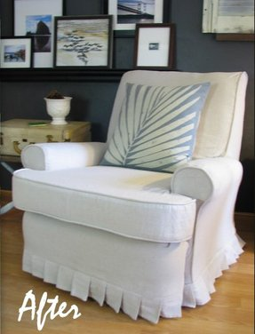 Look at this recliner slipcover by blue roof cabin go