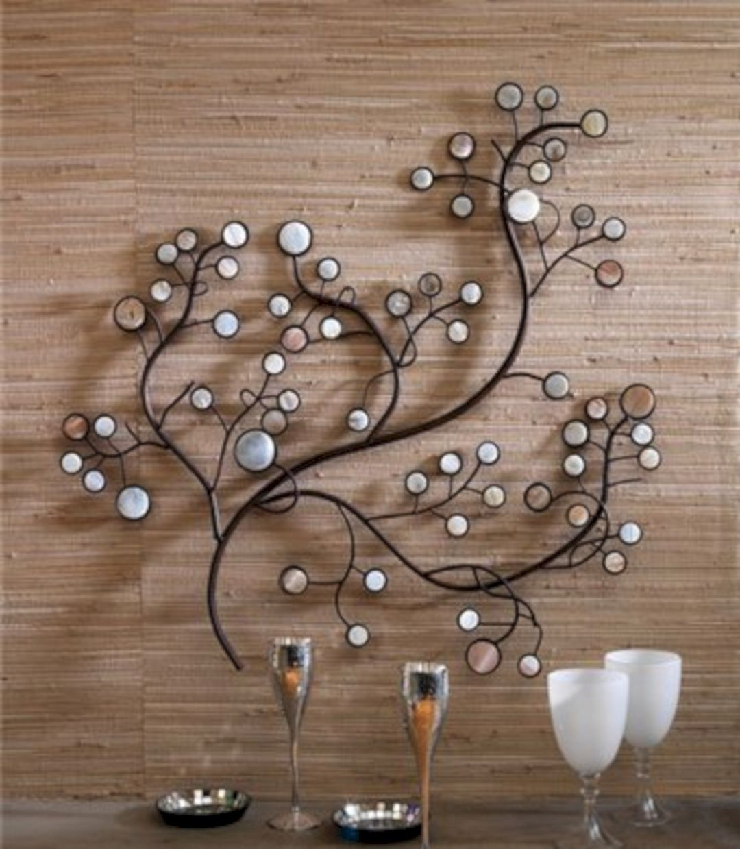 Attractive Metal Wall Decor Ideas 1