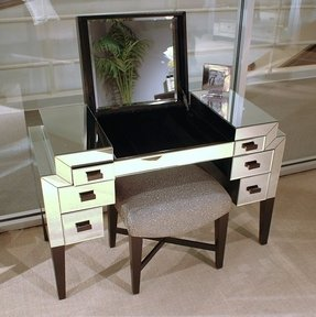 Contemporary Makeup Vanity Table - Foter