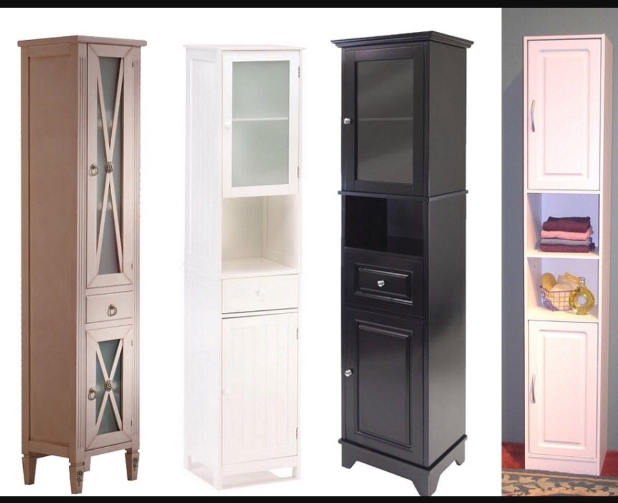 Popular Narrow Cabinet With Doors Decorating Ideas