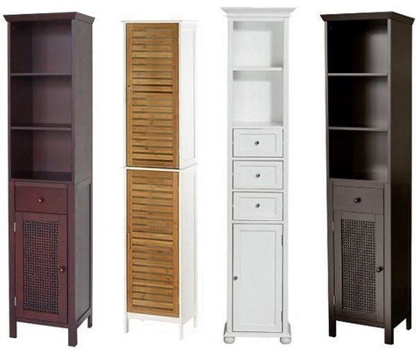 Genial Narrow Linen Cabinet