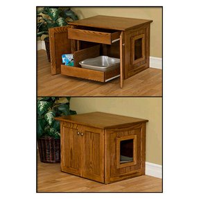 Wooden Cat Litter Box Furniture Ideas On Foter