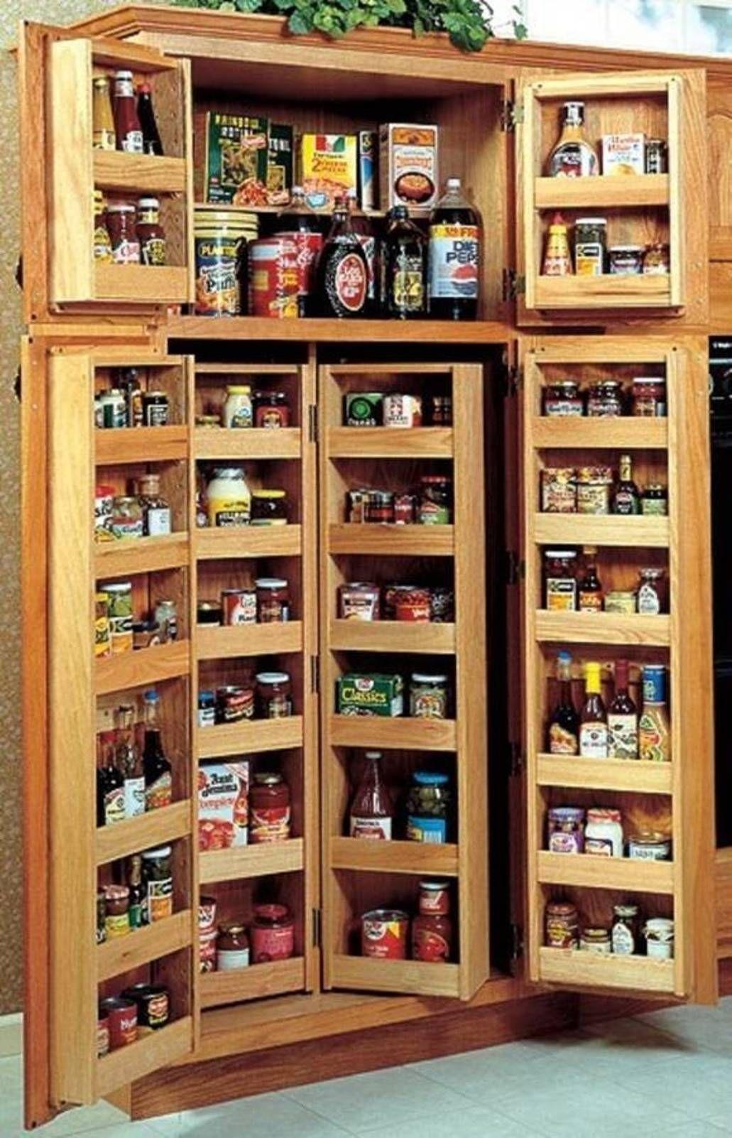 Oak pantry storage cabinet 4 & Oak Pantry Storage Cabinet - Foter