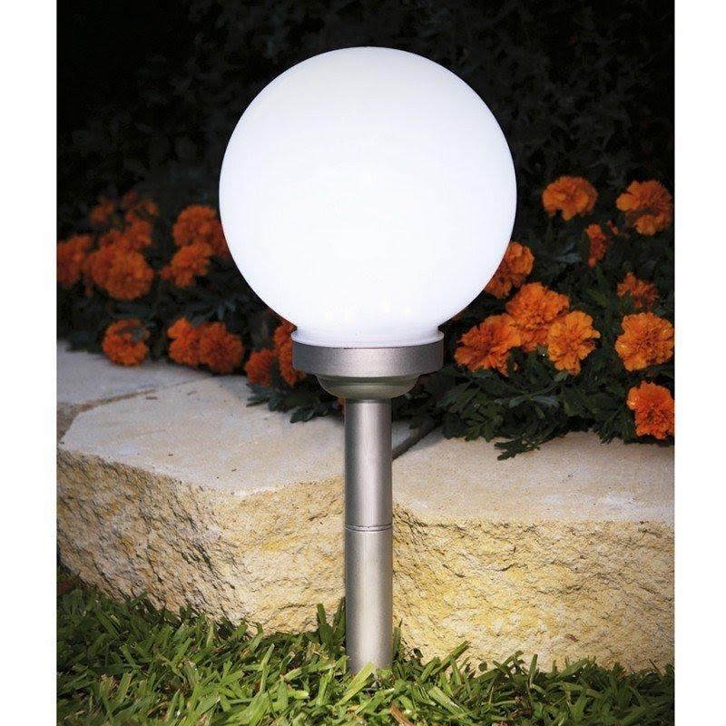 Outdoor Garden Features Lighting Solar Globe Garden Marker