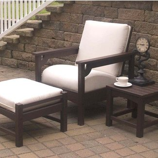 Patio furniture without cushions 1
