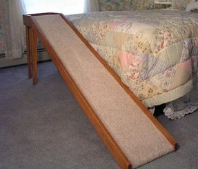Bed Frame With Access For Dogs