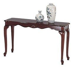 Elegant Queen Anne Sofa Table 1