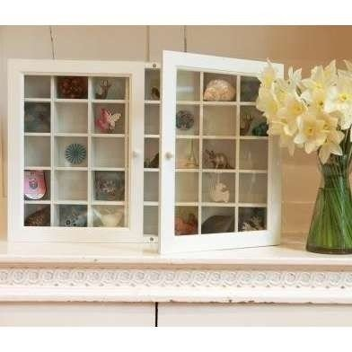 Genial Wall Mounted Curio Cabinet With Glass Doors