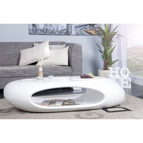 White Gloss Coffee Table - Foter