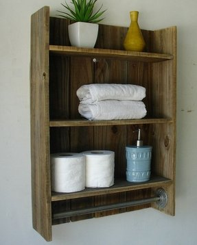 Wood Towel Bars For Bathrooms - Foter