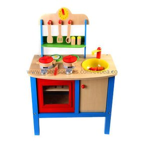 Wooden play kitchens foter for Child size kitchen sets