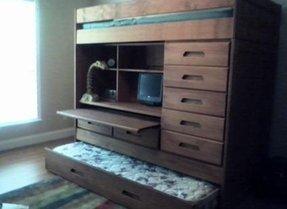 Loft Bed With Desk And Dresser Ideas On Foter