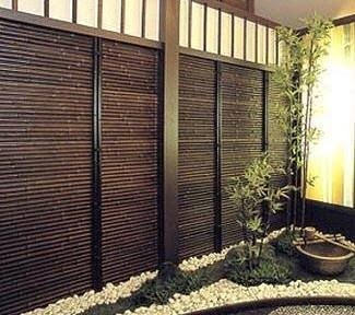 Bamboo Garden Deck Privacy Screens Fence Panels Bali Huts