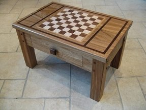 Chess coffee table 2