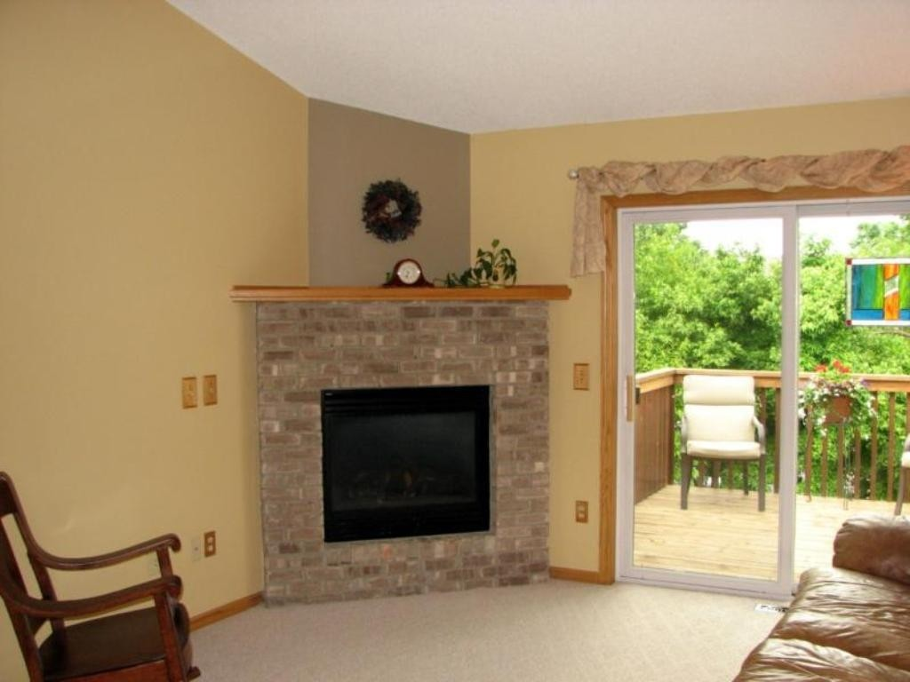 Corner Ventless Natural Gas Fireplaces