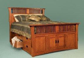 Oak Storage Bed Ideas On Foter