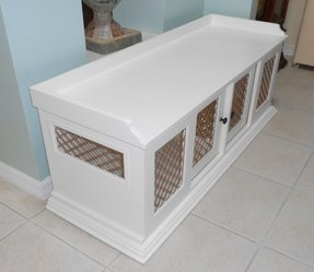 End table dog crate plans