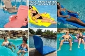 Foam pool chair