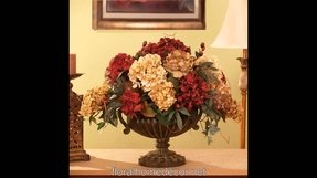 Hydrangea Silk Flower Arrangements Ideas On Foter