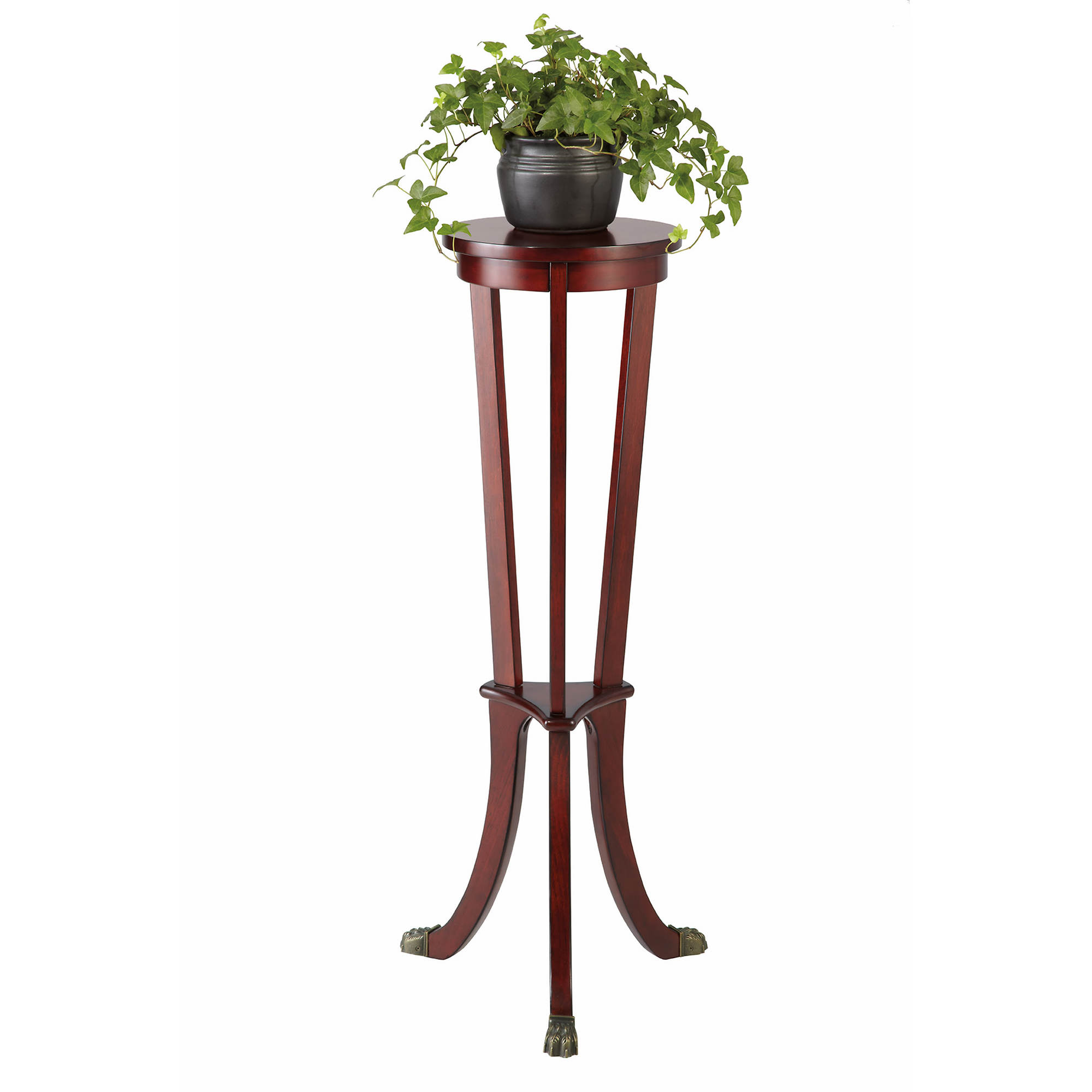 Nice Indoor Plant Decoration Ideas With Beautiful Tall Wood Plant Stand