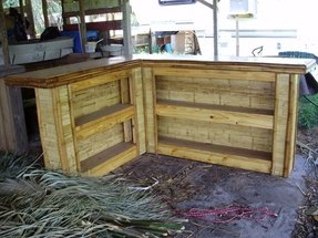 L Shaped Outdoor Bar Ideas On Foter