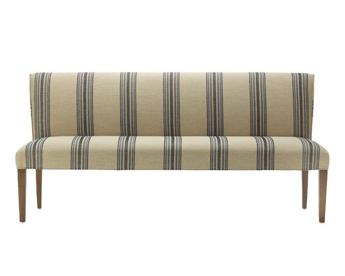 Charmant Upholstered Dining Bench With Back   Ideas On Foter