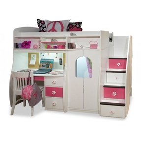 Cute Bunk Beds Under  Dollers For Girs