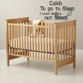 Natural wood cribs