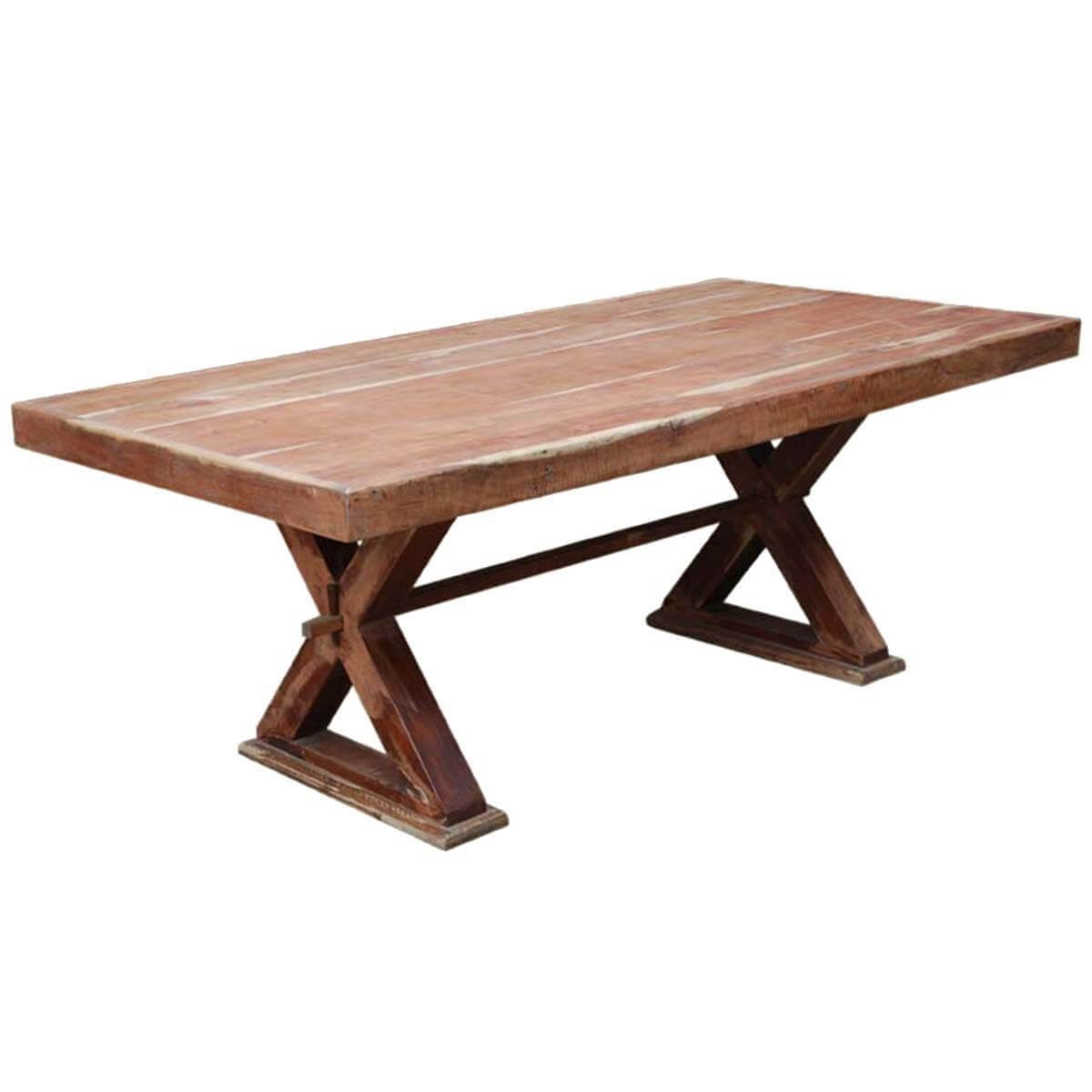 Rectangle Pedestal Table