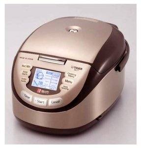 Tiger ih rice cooker with clay ceramic inner pan jkl