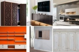 Wall mounted media storage cabinet & Wall Mounted Storage Cabinet - Foter
